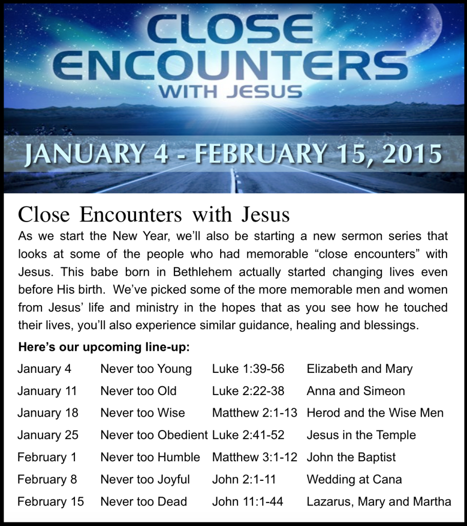 Close Encounters Lineup