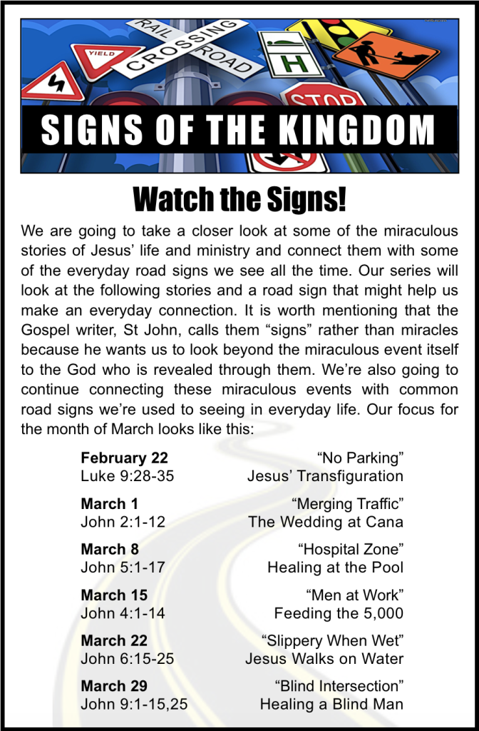 Signs of the Kingdom Lineup